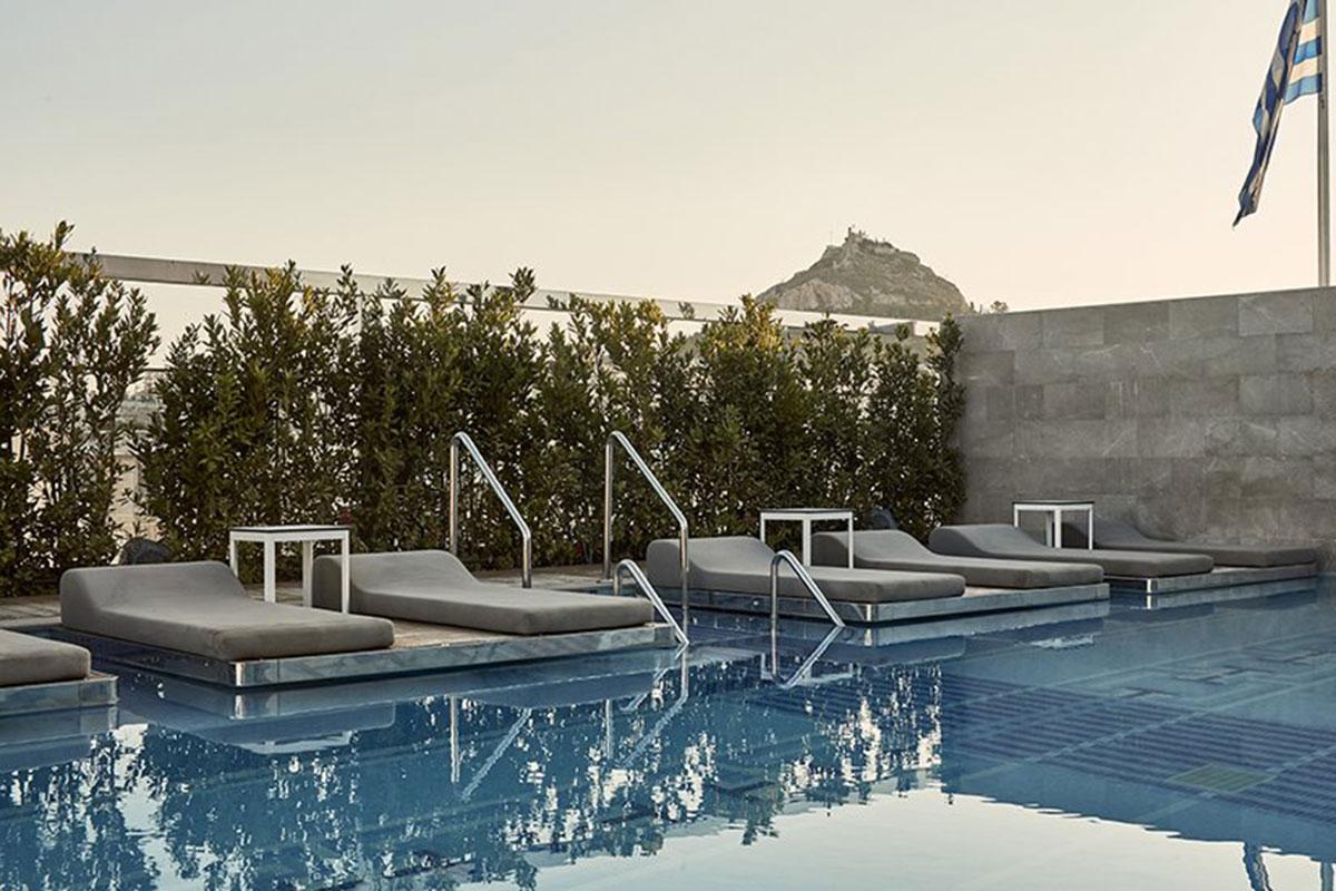 Entspannen am Pool. Luxusreisen