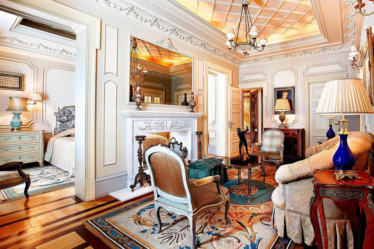 Die Presidential Suite im Hotel Grande Bretagne. Luxusreisen