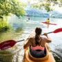 Wassersport in Österreich. Luxusreisen