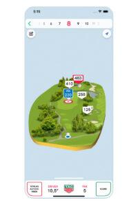 TAG Heuer Golfapp. Luxusreisen