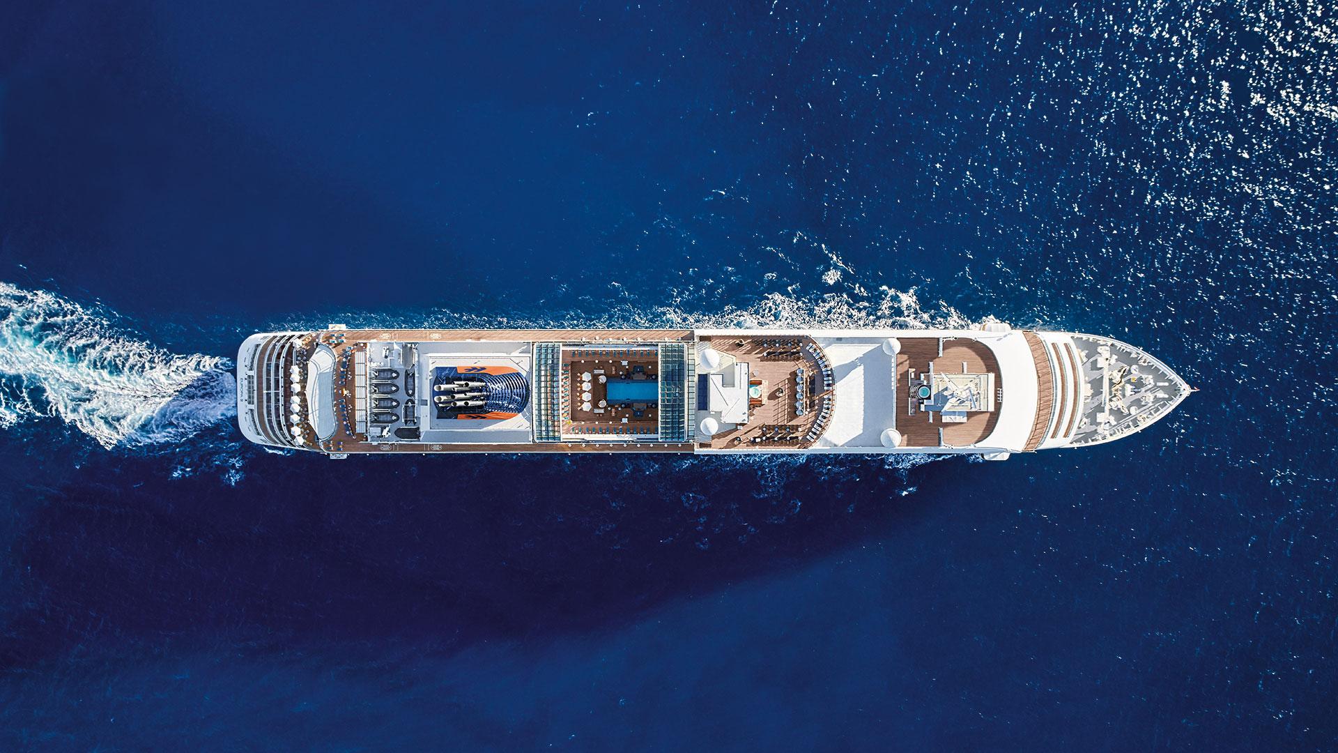 MS Europa 2. Luxusreisen