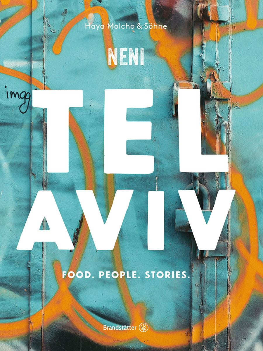 Tel Aviv Kochbuch Cover. Luxusreisen