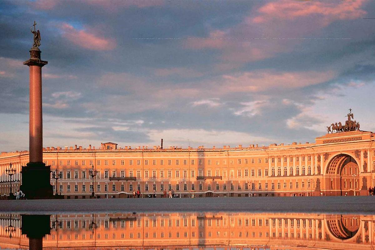 Sankt Petersburg im Winter