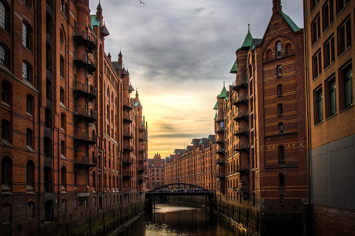 Hamburg. Luxusreisen
