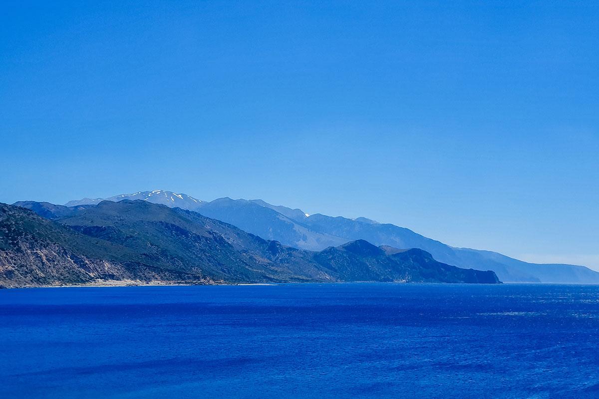 Ausblick Kreta. Luxusreisen