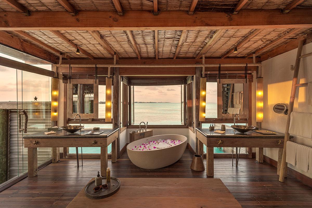Gili Lankanfushi. Luxusreisen