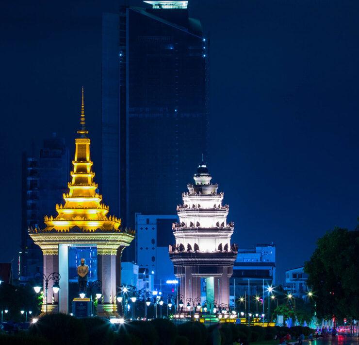 Phnom Penh. Luxusreisen