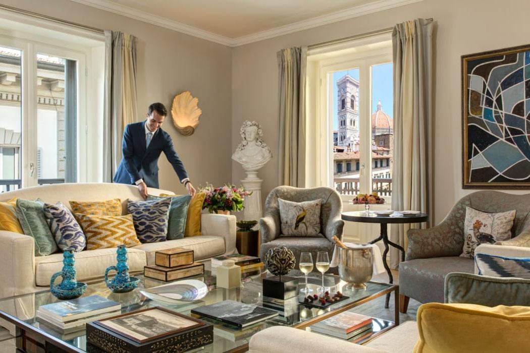 Rocco Forte Hotel Savoy Florenz. Luxusreisen