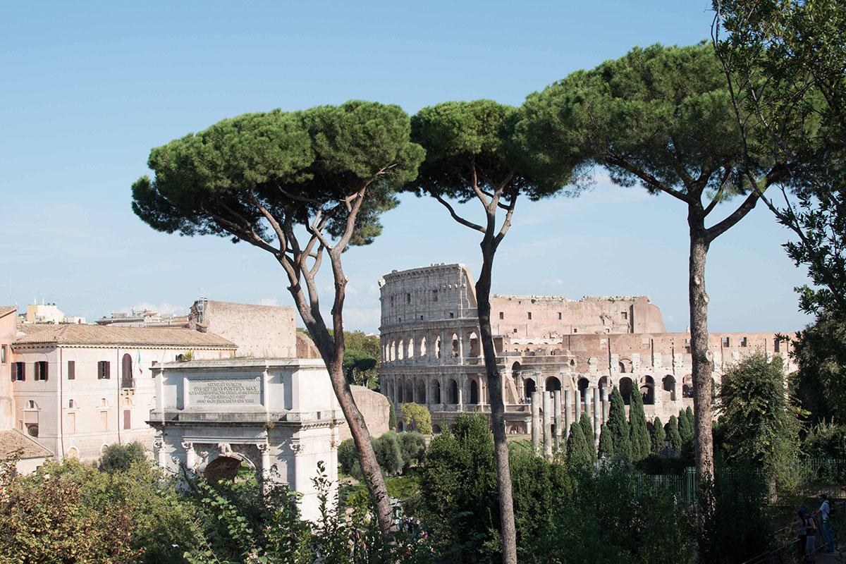 Kolosseum Rom. Luxusreise