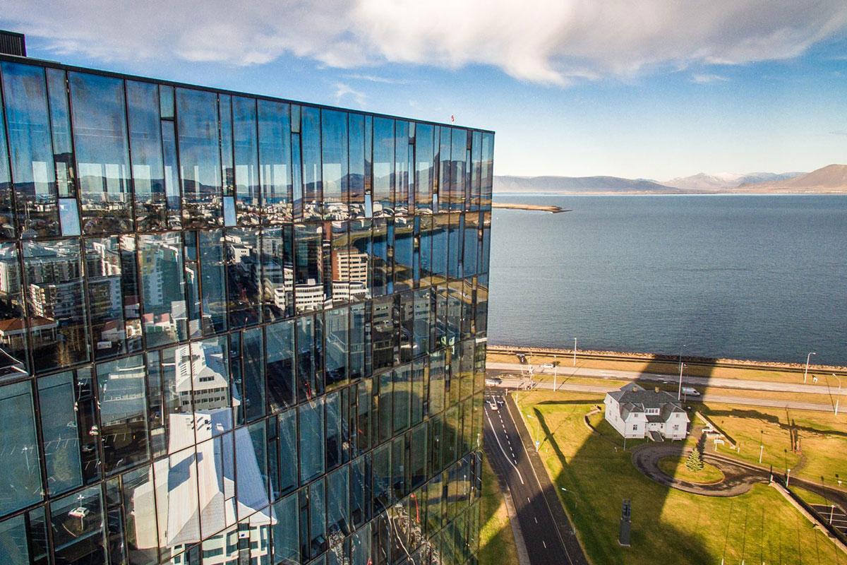 Tower Suites Reykjavík. Luxusreisen