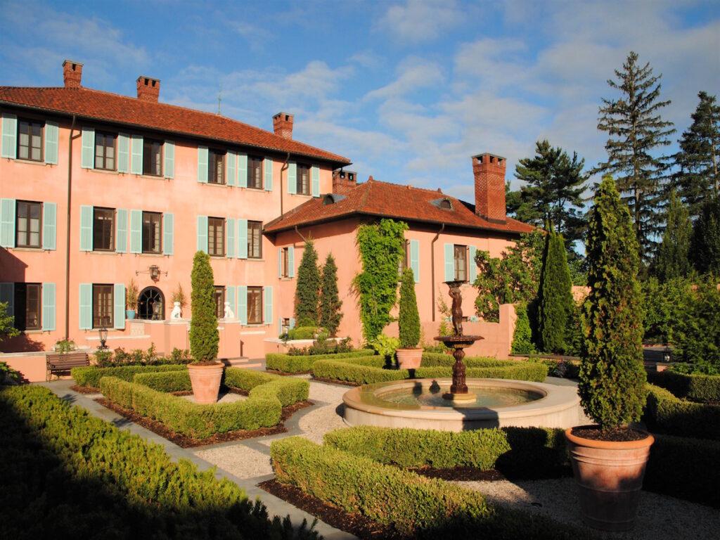 Blick auf Glenmere Mansion