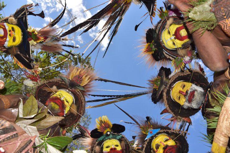 Luxusreisen Neuguinea