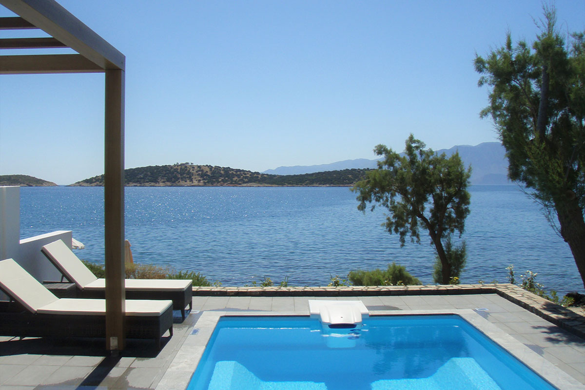 Luxusreise Kreta. Minos Beach Art Hotel